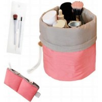 Ladies Travel Polyster Makeup Toiletry / Cosmetic Potli Pouch