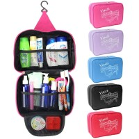 Polyster Foldable Cosmetic Pouch