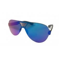 Premium Quality Mirror Finish FULL GLASS Unisex Sunglasses Latest Trend in Shades (Rainbow)