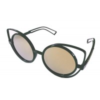 Premium Quality Mirror Finish CAT EYES Sunglasses for Women Latest Trend in Ladies Shades (Brown)